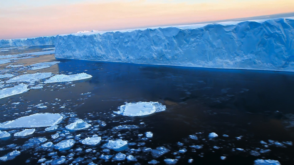 Petermann Ice Island