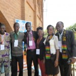 IDEAS For Us and YCR Team attend UNEP TUNZAFRIKA Conference 2013 at Lome,Togo